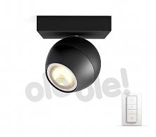 Philips Buckram Hue Single Spot Black 50471/30/P7