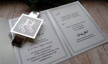 zaproszenia w folderze