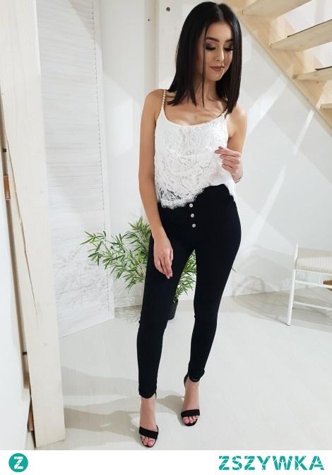 Spodnie BUTTON jeans. Ottanta - sklep online