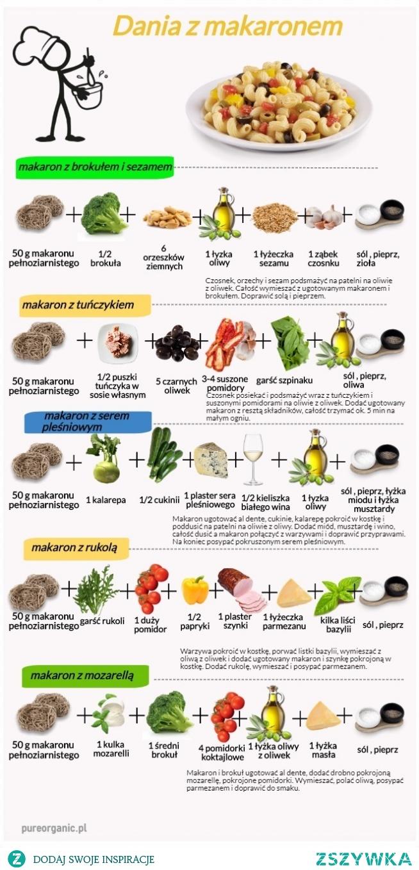Dania z makaronem. Smacznego :-) #daniazmakaronem, #fit, #pureorganic, #zdroważywność, #zdrowejedzenie, #zdroweprzepisy, #zdrowie