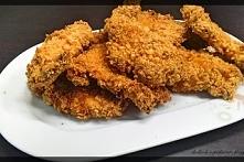Pieczone kąski kurczaka w ś...