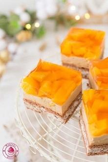 Ciasto czekoladowo-brzoskwiniowe - Najlepszy przepis - Wypieki Beaty