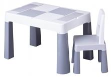 Dwustronny stoliczek i krzesełko dla dziecka to idealne rozwiązanie dla malucha. Zapewnij mu dobrą zabawę w bezpiecznych stylu.