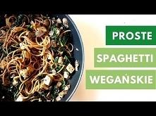 SPAGHETTI JARMUŻOWO - PIECZARKOWE   Szybki, zdrowy, wegański obiad   Healthy ...