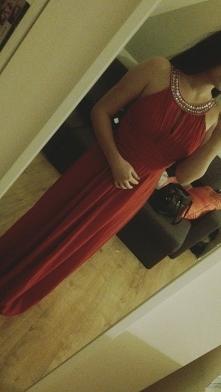 Sprzedam sukienke rozmiar m była skracana  idealna na 164cm  #sukienka #studn...