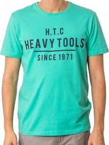 Heavy Tools Koszulka Męska Mark s18-205 Mint (Rozmiar Xl)