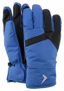 Rękawice narciarskie męskie  REM601 - niebieski - Outhorn