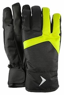 Rękawice narciarskie męskie REM601 - głęboka czerń - Outhorn
