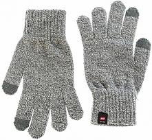 Jack&Jones Męskie Dzianinowe Rękawiczki Z Dzianiny Grey Melange