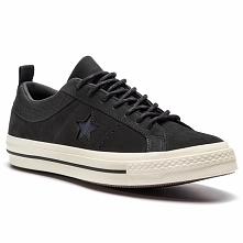 Sneakersy CONVERSE - One Star Ox 162545C Black/Almost Black/Black