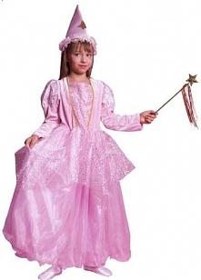 Wróżka B różowa - przebrania / kostiumy dla dzieci, odgrywanie ról