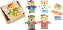 Ubierz  misia Leo - zabawka dla dzieci uniw