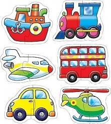 Transport - Puzzle dla dzieci uniw