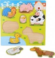 Puzzle Zwierzątka - zabawka dla dzieci uniw