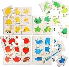 Puzzle dla dzieci - Kolory i figury uniw