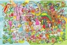 Puzzle dla dzieci W krainie fantazjii 24 elementy uniw