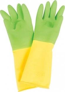 Rękawice gumowe ogrodowe dla dzieci uniw