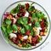 Sałatka z orzechami włoskimi i mozzarellą