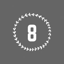 #8 #zapomocącanva #liczba #beautiful #follow4follow #glamour #grafika