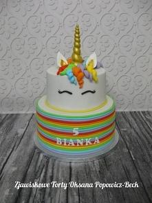 Tortowy jednorożec - na urodziny, nie tylko dla dziecka