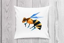 Pillow Bee 40x40cm