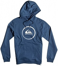 Quiksilver Big Logo Bluza Kaptur Blazer Navy Heather eqyft03717-Byjh (Rozmiar S)