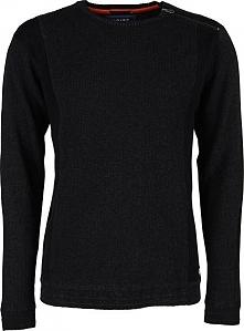 Noize Męska Koszulka Z Długimi Rękawami Sweter Węglem 4523235-00 (Rozmiar S)