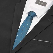 Krawat - Niebieski