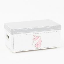 słodkie pudełko z jednorożcem