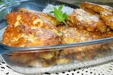 Kotleciki z fileta z pieczarkami i serem żółtym