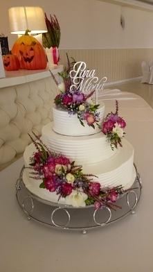 tort na mój październikowy ślub