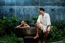 Natural Stone Bathtub 'Flumen' in De Moksha Boutique Resort - Bali,...