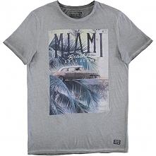 Cars-Jeans Męski T-Shirt Vibes 4125717 Antra (Rozmiar Xl)