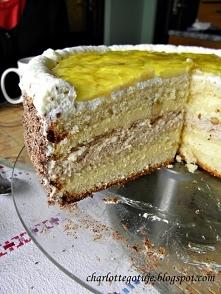 Tort bananowy z masą Milky Way