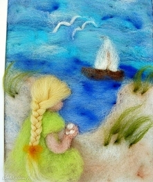 Obraz. Wakacyjne wspomnienia. Obraz z kolekcji Die wunderschöne Kindheit