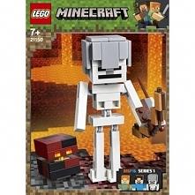 LEGO Minecraf 21150 BigFig - szkielet z kostką magmy