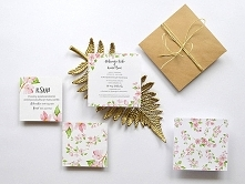 Zaproszenie ślubne SUMMER