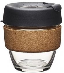 Keep Cup Szklany Kubek Termiczny Espresso Cork Brew S
