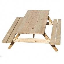 Stół ogrodowy Compact , ławostół , piwny 175x60