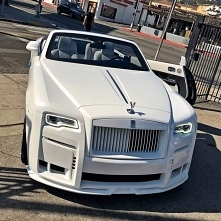 white, car, RR, luxury, rich