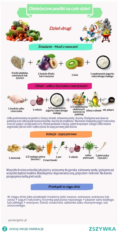 Dietetyczne posiłki na cały dzień. Dzień drugi.  #dieta, #dietetyczneposiłki, #pureorganic, #zdroważywność, #zdrowejedzenie, #zdrowenawyki, #zdroweposiłki, #zdroweprodukty, #zdroweprzepisy, #zdrowie, #zdrowydzień, #zdrowytrybżycia