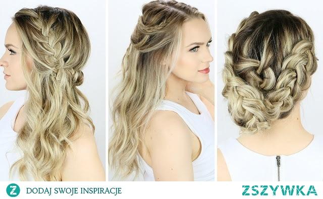 Fryzury I Upięcia Włosy Długie I Półdługie Hairstyle