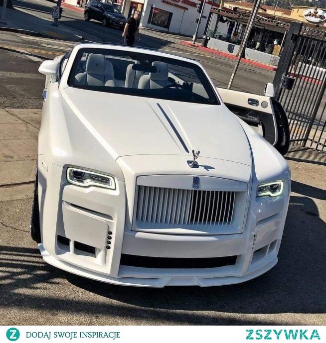 white, car, RR, luxury, rich