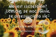 Fryderyk Nietzsche cytat o ...