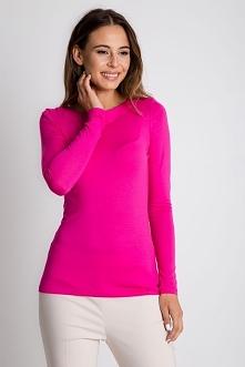 Różowa bluzka z długim rękawem BIALCON