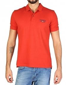 Napapijri Koszulka Polo Męska M Pomarańczowa