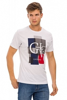 Galvanni T-Shirt Męski Bolivar M Biały