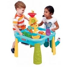 Piaskownica 2w1 z funkcją stołu wodnego dla dzieci od Fisher Price to kreatywna zabawka ogrodowa. Świetnie sprawdza się również w zestawie z piaskiem kinetycznym, który pozwala ...