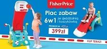 Zabawka ogrodowa Fisher-Price 6 w 1 kosztuje teraz tylko 399 zł! Łączy funkcj...