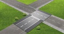 Lego City Supplementary 60236 Ulica I Skrzyżowanie